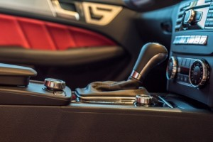 APV AMG C63 gear shift  - sports car rental