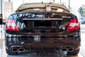 APV AMG C63 rear - car rental