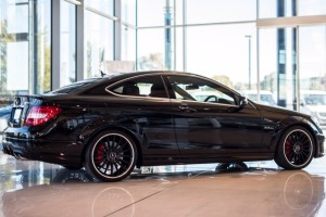 APV AMG C63 side profile - sports car rental