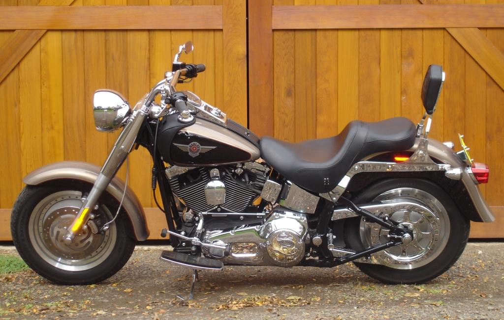 Sydney rental Harley Davidson Fat Boy hire