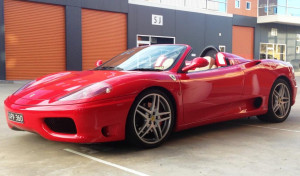 Ferrari 360 Modena Sydney sports car hire web