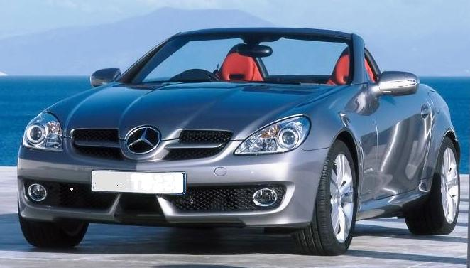 mercedes-benz-slk-350-Sydney Sports Car hire