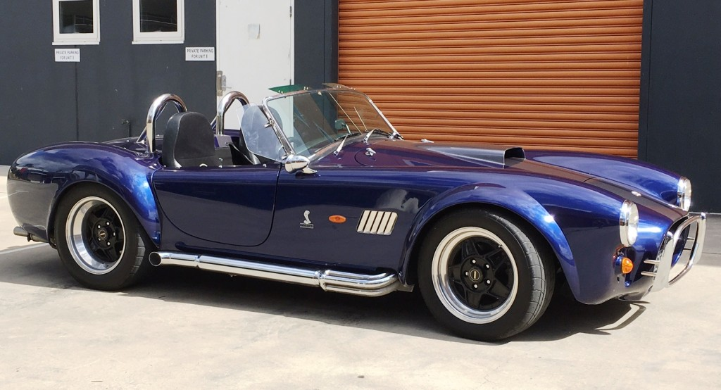 AC Cobra 347 Sydney Canberra Sports Car rental