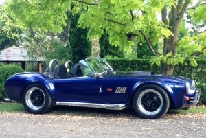 AC Cobra 347 Windsor side - Sports car hire Sydney