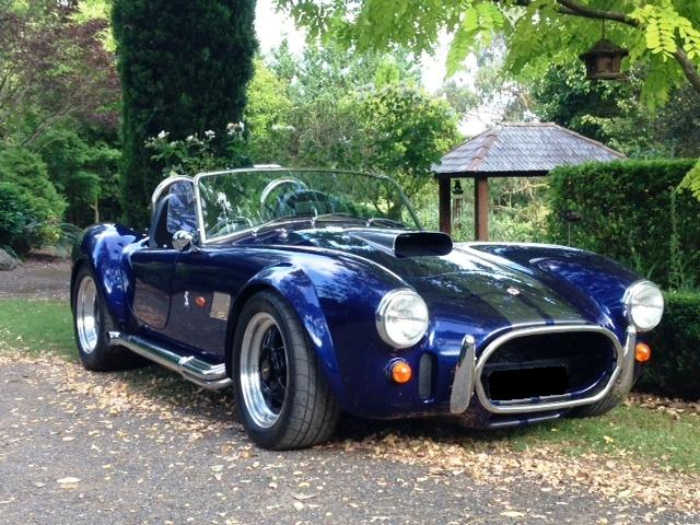 AC Cobra 347  rear side Sydney Sports car rental