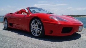 Ferrari 360 front angle low Sports Car Hire APV 2. jpg
