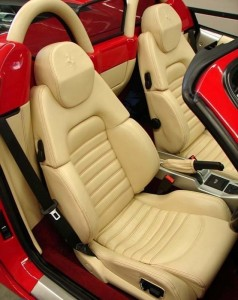 Ferrari hire 360 F1 interior