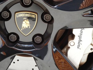 Lamborghininm wheel and brake = sports car hire