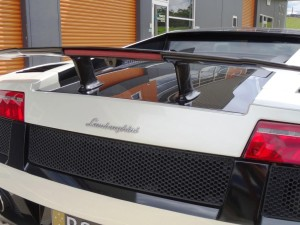 Lamborghini rear wing - for rent